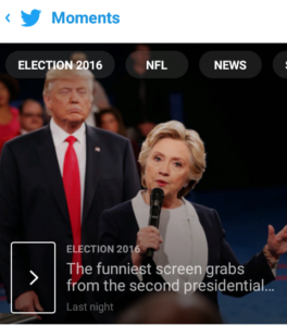 Twitter Moments announces screen grabs in their Moments section.