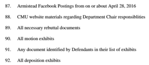 Screen capturing a now-deleted-Facebook allows it to be used in litigation.