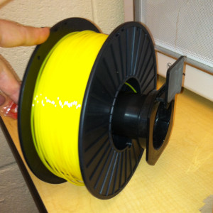 The filament spool from MakerGeeks is sized wrong for my Flashforge Creator Pro  printer.