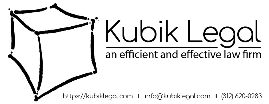 Kubik Legal Logo and Information